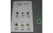 Beko - Kit gicleurs gaz butane - g30 - 4431910057