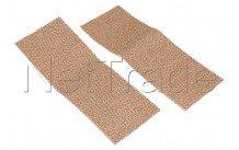 Clearit - Lingettes vitro et induction 1 face pour frotter 1 face nettoyer - 71X5027