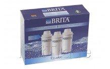 Brita cartouche filtrante classic 3-pack - 205386