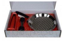 Lagostina - Set la tagliata grill 30cm diam +pince+moulin a po - 11193930130