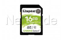 Kingston technology canvas - SDS16GB