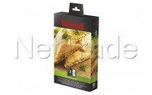 Tefal - Jeu de plaques grill/croque-monsieur - XA800212