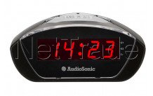 Audiosonic - Radioréveil affichage rouge - CL1458