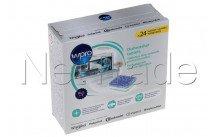 Wpro - Tablettes pour lave-vaisselle - nouvelle formule - 484010678174