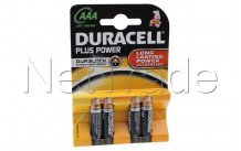 Duracell plus - mn2400 - lr03 - aaa - 1.5v - bl.4p - MN2400