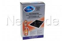 Clearit - Kit d'entretien vitrocéramique et induction - 74X8596