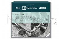 Electrolux - 3 in 1 ontkalker, ontvetter en hygiënische reiniger voor wasmachine en vaatwasser 6 zakjes = 6 maand - 9029799187