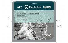 Electrolux - Super clean vaatwasser ontvetter (2 zakjes) - 9029799203