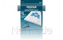 Hoover - Stofzuigerzak propair telios h 30 t4300-4420   5 stuks + micro filter