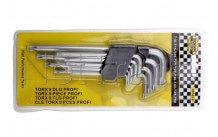 Benson tools - Torx sleutelset 9 dlg (hobby -arrow-tech-) 5876 - 005876