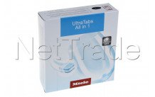 Miele - Tabletten voor vaatwasser  ultra tabs all in 1, 60p eu1 - 11259430