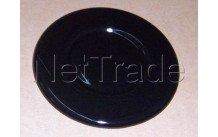 Beko - Branderdeksel  zwart -  diam. 75.4mm  // cm64220c - 419920279