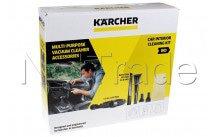 Karcher - 7-delige autoreinigingsset tbv nat/droogzuiger dn3 - 28633040