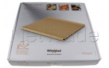 Whirlpool - Pizza steen - 350x345x41.5mm - 484000000276