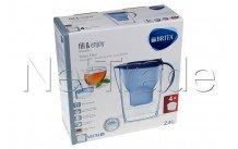 Brita - Marella cool blue + 4 x maxtra+ filtercartridges - 1040846