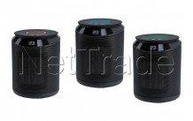 Tecnolux - Calo cilindro black 1000/2000w - PTCI2000D