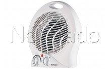 Tecnolux - Elektrische kachel (ventilator) 2000w - 3 instelbare standen - regelbare thermostaat - PT2004