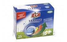Eca - 25 tabletten voor wasmachine zonder phosphate