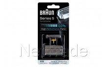 Braun - Combi pack - 360° complete -51s - zilver - 81387975