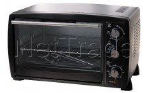 Tecnolux - Mini oven 20l 1500w zwart - GT20CSNOIR