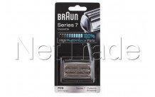Braun - Scheercassette pulsonic -  serie 7 - 70s - silver - 81387979