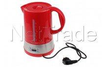 Tecnolux - Waterkoker met temperatuurselectie, inhoud 1.70l, vermogen 1850w, kleur rood - PB17M1RT