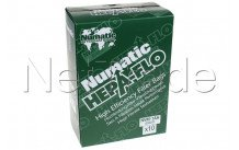 Numatic - Stofzak numatic hepa-flo   6 liter compact (10stuks) nvm1ah - 604011