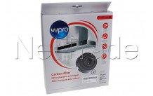 Wpro - Koolstoffilter type 58  set - 484000008782