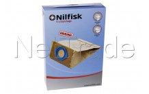 Nilfisk - Papieren stofzakken gs/gm 80/90  (5) - ga70/gm80/g - 82095000