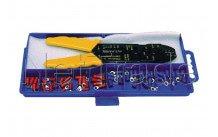 Cogex - Krimptang   met assortiment kabelschoenen - 22106