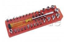 Cogex - Schroevendraaier met bits - 16725