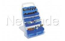 Cogex - Mini-gereedschapstoebehoren in kunststof koffer - 202st. - 30475