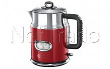 Russell hobbs - Waterkoker retro ribbon red - 2167070