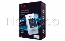 Aeg - Stofzuigerzak - gr201s - classic long performance -4st s-bag - 9001684746