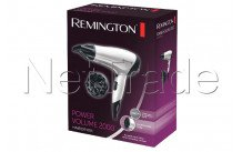 Remington - Power volume 2000: 2000 watt, eco-setting, blaasmo - D3015