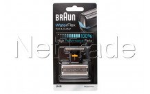Braun - Combi pack - waterflex 360° complete -51b-black - 81469220