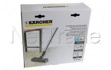 Karcher - Stofzuigerborstel - harde vloeren-  nat-en droog - 28630000