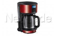 Russell hobbs - Legacy red koffiezetapparaat - 2068256