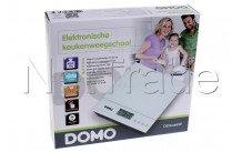 Domo - Keukenweegschaal glas - DO9089W