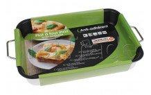Crealys plat à four en inox37 x 27 x 6 cmepais - 513158